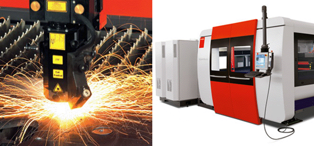 Máy cắt laser hãng Bystronic - Thụy Sỹ