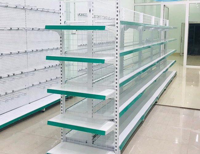 Khung treo kệ siêu thị